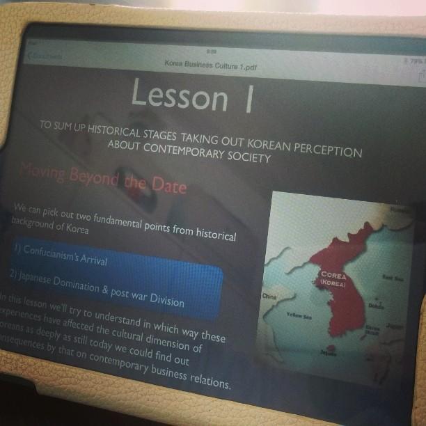 lesson digityal korea
